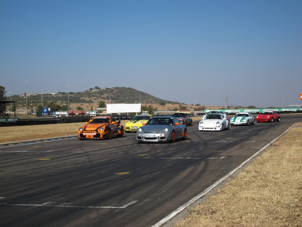 Porsche Club Track Day at Zwartkops